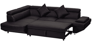 Corner Sofa,Sectional Sofa,Living Room Couch Sofa Bed,Modern Sofa Futon Contemporary Home Furniture