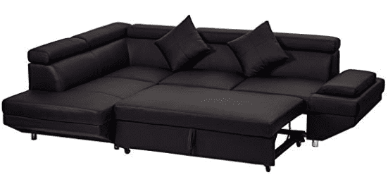 Corner Sofa,Sectional Sofa,Living Room Couch Sofa Bed,Modern Sofa Futon  Contemporary