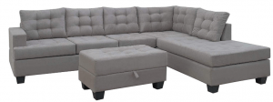 Merax 3-Piece Living Room L-Shaped Sectional Sofa