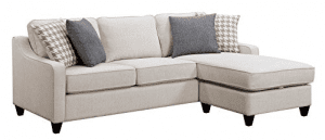 Scott Living Montgomery Transitional Cream Sectional