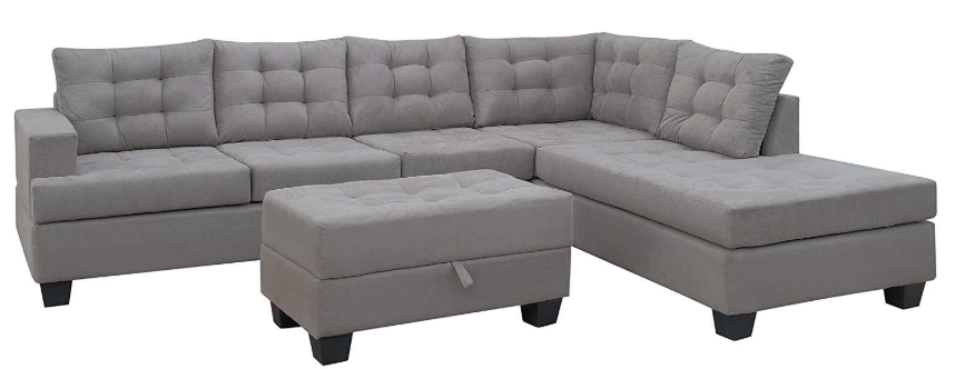 Top 5 Best Sectional Sofas Under 1000 2019 Reviews