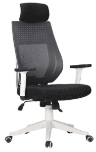 Hbada Ergonomic Office Chair High Back Adjustable Desk Chair Mesh Swivel Computer Chair with Headrest and Lumbar Support