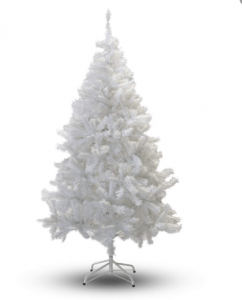 7-Feet Perfect Holiday White Christmas Tree