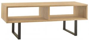 ClosetMaid Rectangular Wood Coffee Table