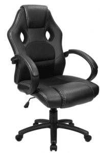 Furmax Office Chair Leather Gaming Chair, High Back Ergonomic Adjustable Racing Chair