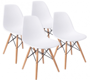 Furmax Pre Assembled Modern Style Dining Chairs(Set of 4)