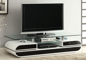 Glenn Contemporary TV Console Stand, 63-Inch