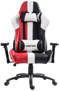 Merax Justice Series Racing Style Gaming Chair Ergonomic High Back PU Leather