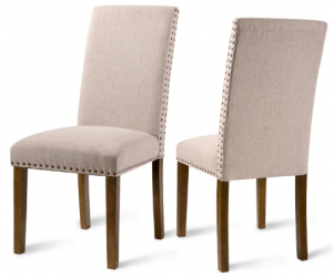 Merax PP036415 Fabric Upholstered Dining Chairs