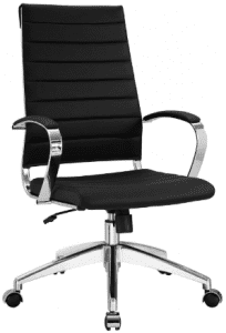 Modway Jive Ribbed High Back Executive Office Chair