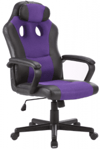 SEATZONE Smile Face Series Leather Gaming Chair
