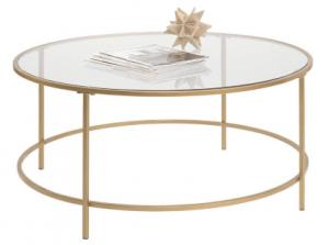 Sauder International Lux Round Coffee Table: Best Round Coffee Table