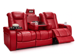 Seatcraft Anthem Home Theater Seating - Multimedia Power Recline Sofa