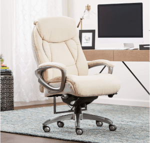 Serta 44942B Works, Executive, Ivory