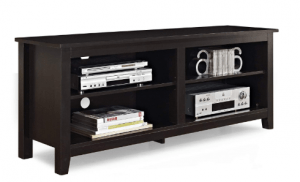 WE Furniture Wood TV Stand, 58-Inch