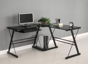 Walker Edison Soreno 3-Piece Corner Desk - Best L-Shaped Computer Desk