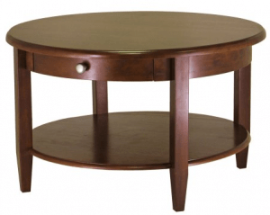 Winsome Wood Round Coffee Table
