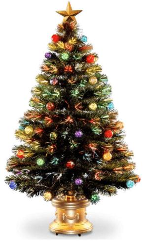Top 8 Best Fiber Optic Christmas Trees 2018 Reviews