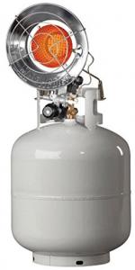 Mr.Heater MH15T Single Tank Top Propane Patio Heater - Best Portable