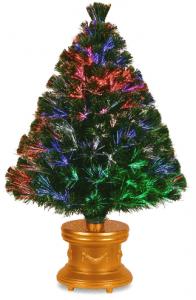 National Tree 36 Inch Fiber Optic Evergreen Christmas Tree