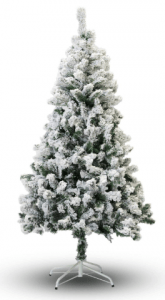 Perfect Holiday Flocked Christmas Tree, 6-Feet
